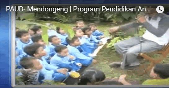 Bahan Ajar PAUD | Program Mendongeng Pendidikan Anak Usia Dini