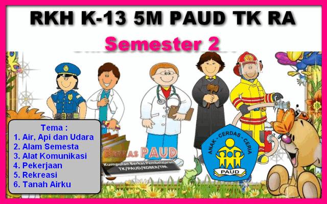 RPPH k13 5M PAUD TK RA Semester 2