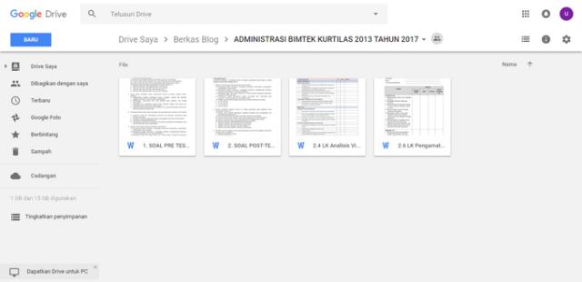 Soal Pre Test Post Test Bimtek Kurikulum 2013 Tahap II Tahun 2017